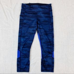 Lululemon Pace Rival Crop Full-On Luxtreme Camo